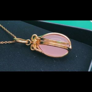 5dbc271d0 Tiffany & Co. Jewelry | Tiffany Egg Pink Opal Pendant With 18k Gold ...